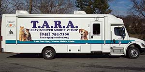 T.A.R.A. Spay/Neuter Mobile Unit